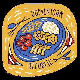 Doodle dominicano de desayuno mangu
