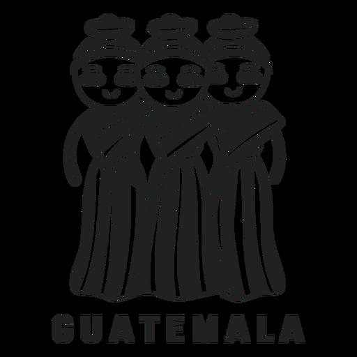 Muneca quitapena guatemala cut out