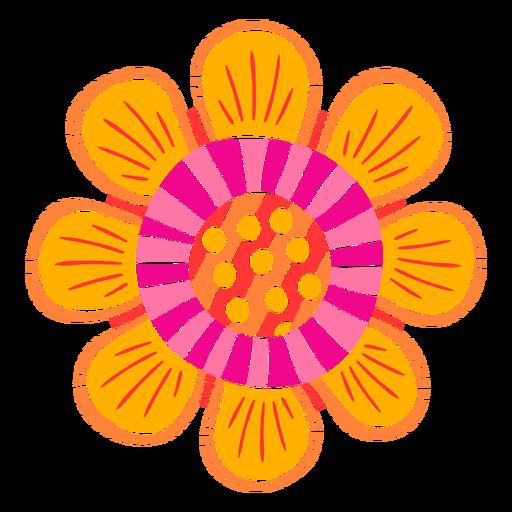 Formas de flores ornamentadas recortadas