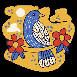 Doodle de república dominicana de palmchat