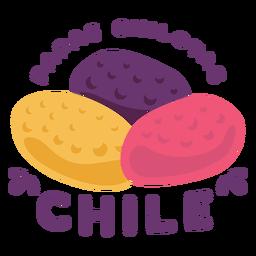 Papas chilotas chile flat