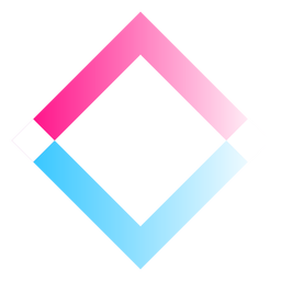 Square gradient logo
