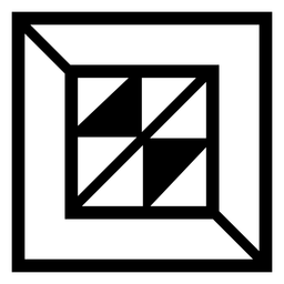 Squared abstract logo