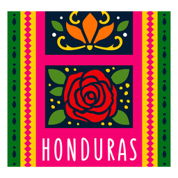 Textile pattern honduras illustration