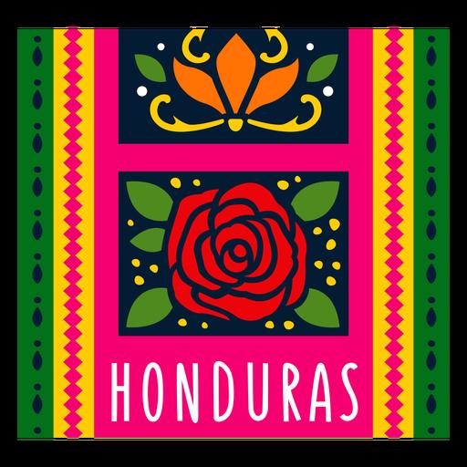 Textile pattern honduras illustration