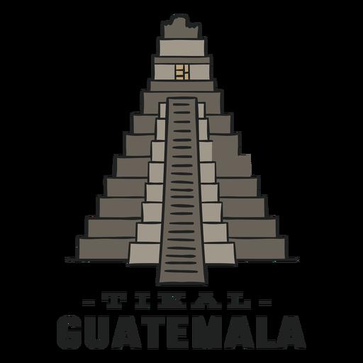 Tikal guatemala flat