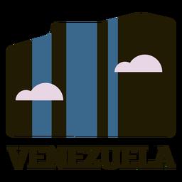 Venezuela sky flat