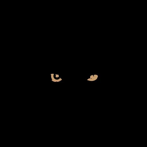 Cabeça de lobo duotônico