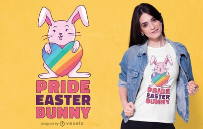 Pride Easter bunny t-shirt design