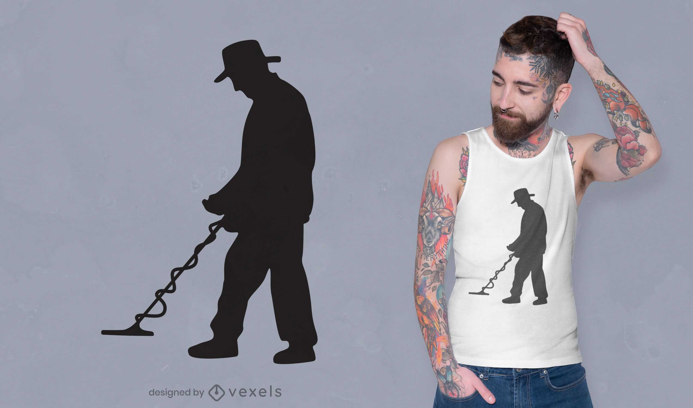 REQUEST Metal detector t-shirt design