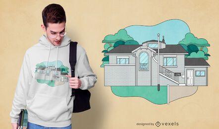 Design de camisetas da Frat House