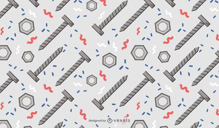Nuts and bolts pattern design
