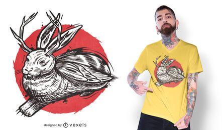 Design de camiseta Wolpertinger