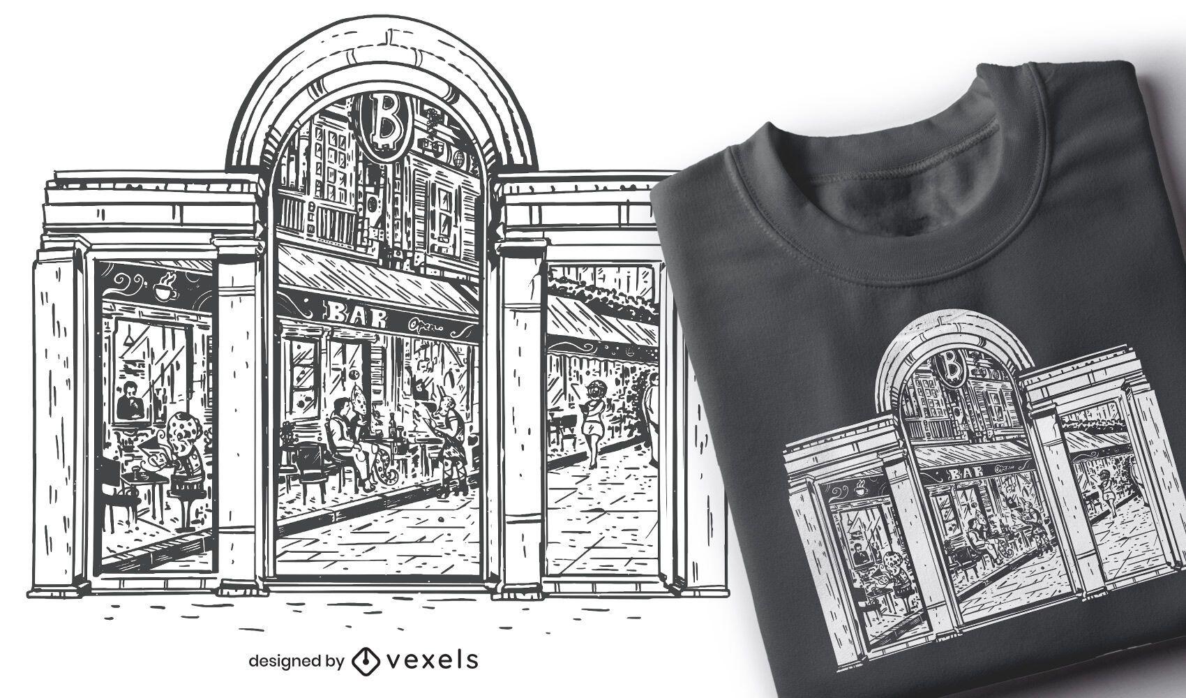 Future window t-shirt design