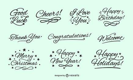 Letras de buenos deseos
