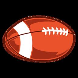 American football ball game illustration
