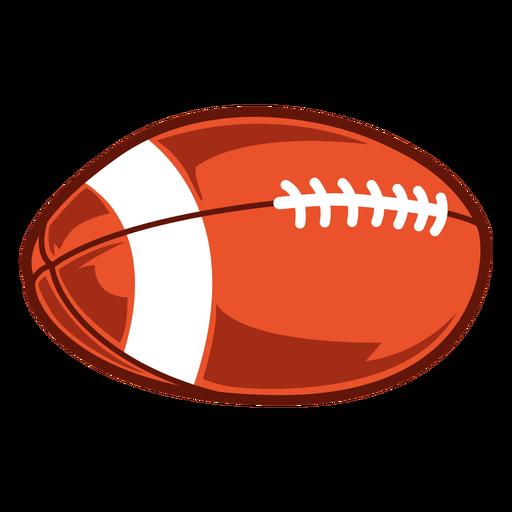 Ilustración de juego de pelota de fútbol americano Transparent PNG