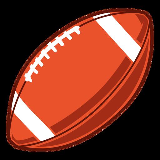 American football ball illustration Transparent PNG