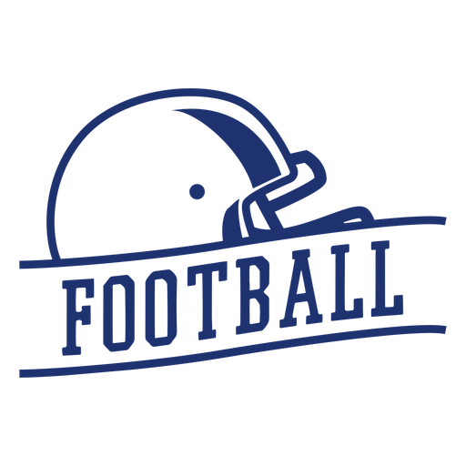 American football helmet badge