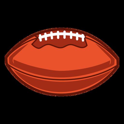American football horizontal illustration