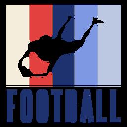 Crachá de jogador de futebol americano