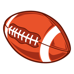 American football side illustration