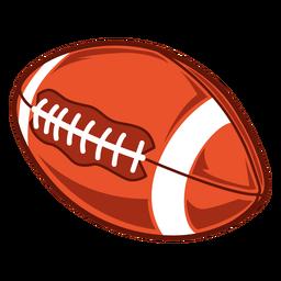 Ilustração do lado do futebol americano