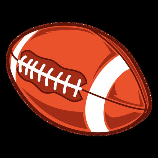 American football side illustration