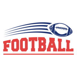 American football sport badge