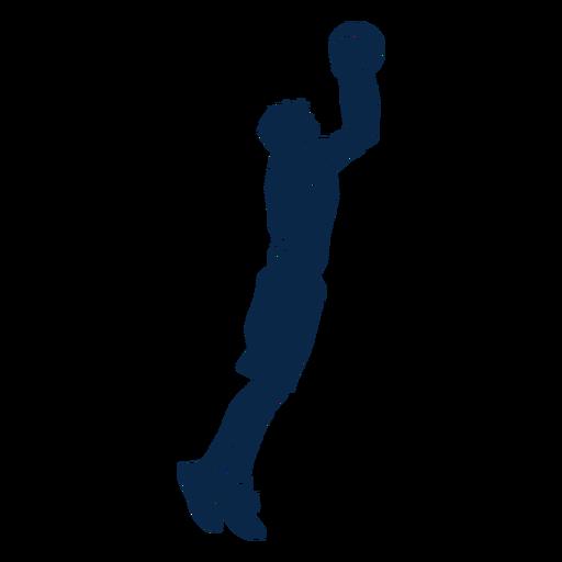 Tiro del jugador de baloncesto cortado