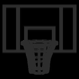 Golpe de tablero de baloncesto