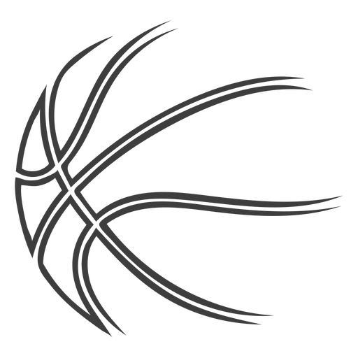 Basketball ball stroke basketball Transparent PNG