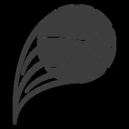 Arremesso de bola de basquete cortado