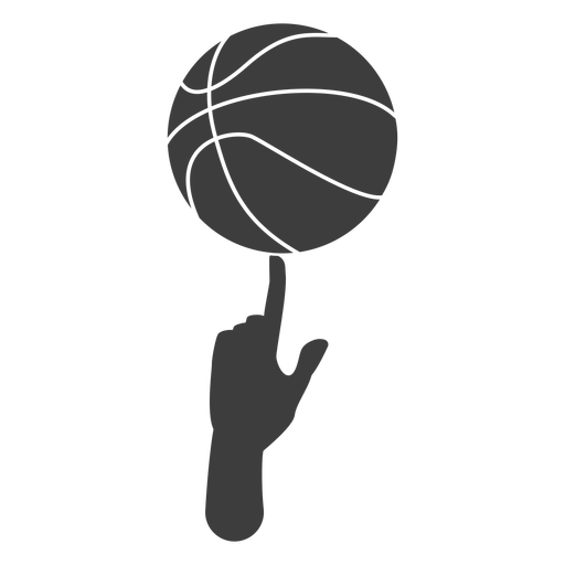 Basketball spin cut out Transparent PNG
