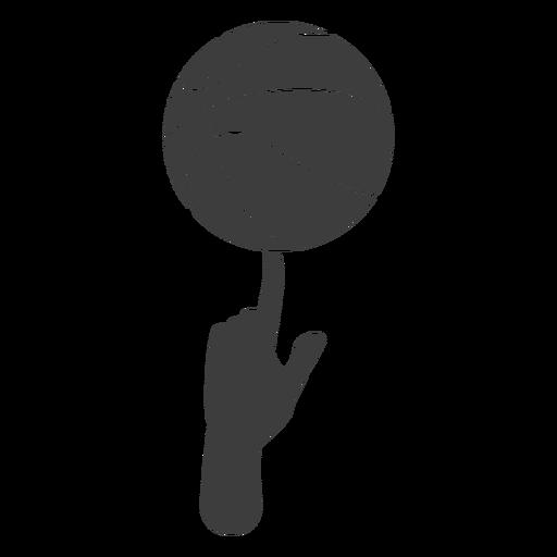 Corte de giro de baloncesto