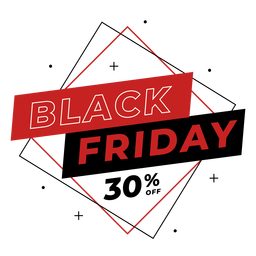 Black friday discount badge