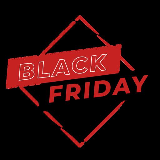 Black friday discount badge Transparent PNG