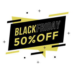 Black friday promo badge