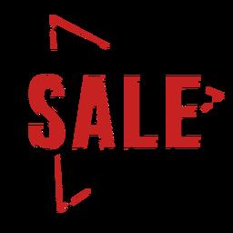 Schwarzer Freitag-Verkaufsabzeichen Neon