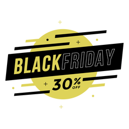 Black friday sale off badge