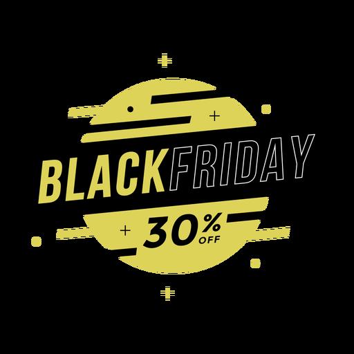 Black friday sale off badge
