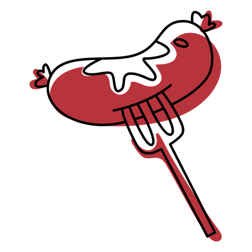 Bonfire bangers food color stroke
