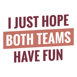 Ambos equipos se divierten escribiendo