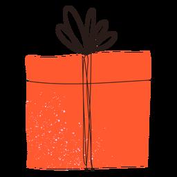 Doodle de presente de caixa