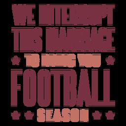 Traga as letras da temporada de futebol
