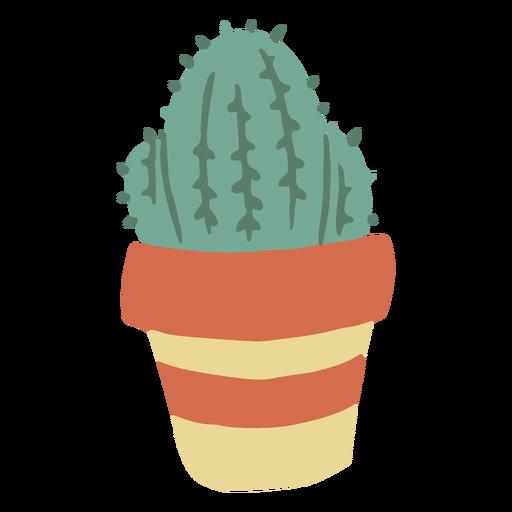 Planta de cactus plana Transparent PNG