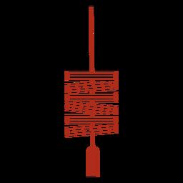 Chinese lantern traditional stroke