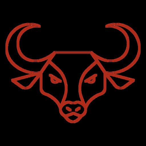 Chinese ox head stroke