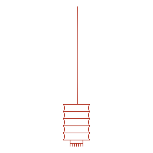 Chinese traditional lantern stroke