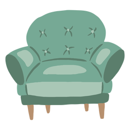 Comfy chair flat
